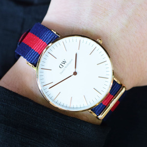 [다니엘 웰링턴시계 DANIEL WELLINGTON] 0101DW / 40mm 클래식 옥스포드 CLASSIC OXFORD ROSE GOLD